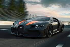 Bugatti won its constant performance competition with koenigsegg, in terms of its maximum speed and time of acceleration to 100 km/h (62 mph). Bugatti Chiron Super Sport 300