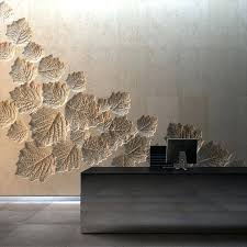 texture wall design use reverse mould in a poured concrete wall interior  and exterior create patterns