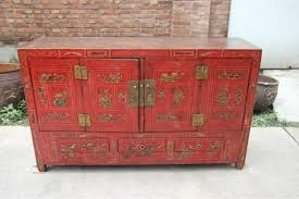 distressed antique furniture. distressed chinese handmade painted cabinet antique furniture