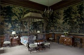 bonnie prince charlie room drumlanrig castle love the vertical striped lining of the canopy