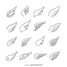 bd8e6cad9ef4e4181b061aa073232864 wings icon logo template pack wings icon logo template pack vector download on work status report template
