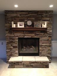 our new brick fireplace decorated fireplace mantel brick