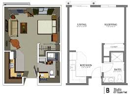 One bedroom apartment plans and designs inspiring goodly ideas about studio apartment plan on photo