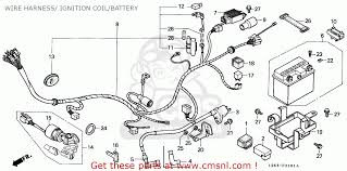 honda st50 dax 1989 (k) germany wire harness ignition coil battery Schematic Diagram Honda view large image
