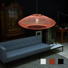 Ufo Lamp Fiber Pattern Large Art Design Chez Freddy
