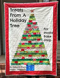 Treats From A Holiday Tree Quilt Â« Moda Bake Shop & Hello Moda bakers! I'm Debora Exum and today we're cooking up a holiday  quilt that will bring fun for everyone throughout the holiday season. Adamdwight.com