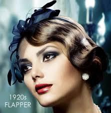 1920s flapper makeup for parties