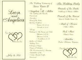 Wedding Ceremony Program Template Free Download Ceremony Booklet Template Wedding Booklet Templates Ceremony Program