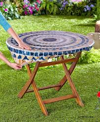 30 pcs lot fitted mosaic table cover mosaic tuscan tile design round fitted tablecloth patio table cover