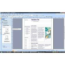 Microsoft Publisher 2007 Review Excellent Software For