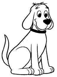 Clifford The Big Red Dog Coloring Pages Wecoloringpage Pinterest