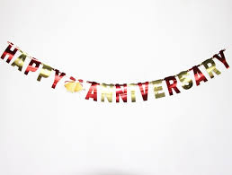 happy anniversary banners gold red happy anniversary banners wedding decorations valentines