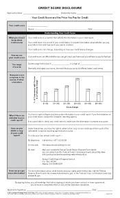 Annual Credit Report Form Credit Score Disclosure BPI Dealer Supplies 23