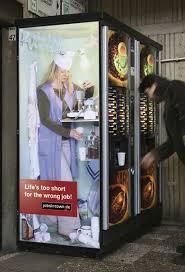 Vending Machine Companies Jobs Interesting Scholz Friends Berlin For Jobsintownde The Wrong Job Campaign