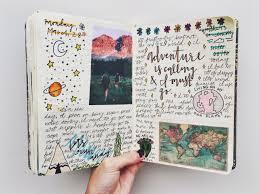 25 01 16 road trip coffee bullet journal