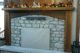insulated fireplace cover fire place covers decorative fireplace door insulation home depot insulated fireplace cover