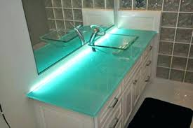glass vanity top gallery of appealing tempered glass bathroom sink