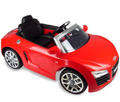 Fully Licensed Audi Spyder Electric Car For Kids In Red