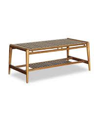 greyton teak coffee table