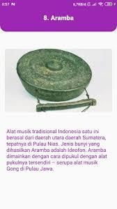 Alat musik tradisional yang digunakan pada waktu itu antara lain seperti : Updated Download Alat Musik Tradisional Indonesia Android App 2021