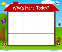 Whos Here Today Chart Whos Here Today Self