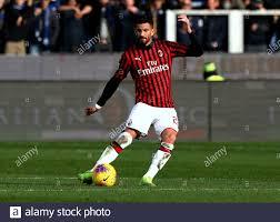 BERGAMO, ITALY - December 22, 2019: Mateo Musacchio in action during the  Serie A 2019/2020 ATALANTA v MILAN at Gewiss Stadium Stock Photo - Alamy