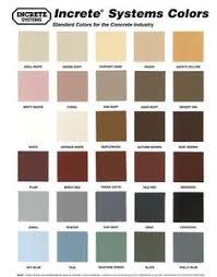 Concrete Sealer Color Chart 38 Best Concrete Stain Colors Images Stain Colors