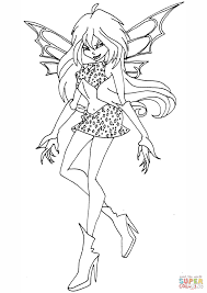 Evil Fairies Coloring Pages Free Coloring For Kids 2019