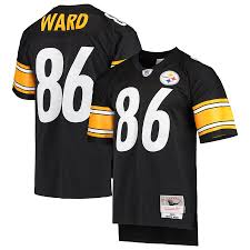 Steelers Legacy Mitchell Hines Ness Ward Replica Player amp; Jersey Black Retired - Pittsburgh