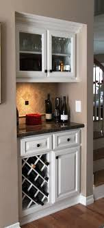 built in wine cabinet. Plain Cabinet Mini Bar And Built In Wine Rack Intended Built In Wine Cabinet Pinterest