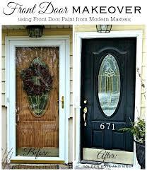 oval glass front door front door makeover with modern masters front door paint in elegant black oval glass front door
