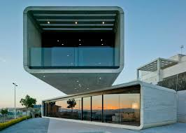 Cantilevered Concrete Homes