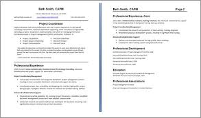 One. One Page Resume Examples Best Resume
