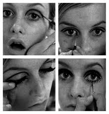 1960s makeup twiggy eye makeup