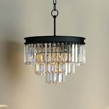 black glass chandelier 3 tier crystal prism fringe glass chandelier restoration lighting black chandelier glass drop