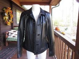 bod christensen black leather jacket women s size 10 medium from nordstrom