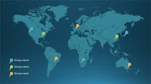 Map Of The World For Powerpoint Everything You Need To Add Beautiful Editable Maps To Your