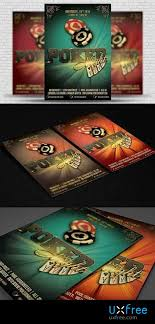4 X 6 Flyer Template Poker Night Flyer Template 4 X 6 1288903 Uxfree Com