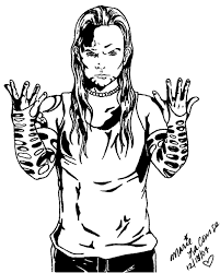 Small Picture Coloring Pages Kids Jeff Hardy Coloring Pages Of Jeff Hardy