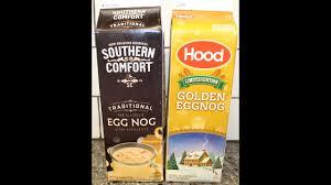 Hood Light Eggnog Southern Comfort Egg Nog Vs Hood Eggnog Blind Taste Test