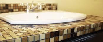 tile bathroom countertop ideas. attractive tile bathroom countertops 101 how to build amp counters diydiva countertop ideas