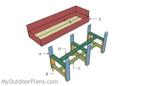 bed in a box plans. Waist High Planter Box Plans. Building A Raised Garden Bed In Plans