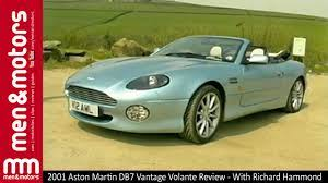 2001 Aston Martin Db7 Vantage Volante Review With Richard Hammond Youtube
