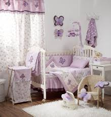 About Bedding For Girls Nursery Baby Of And Lavender Room Ideas ...