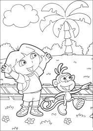 Dora Coloring Book Pdf Coloring Pages Coloringpages Dora