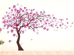 cherry blossom tree wall decal cherry blossom tree wall decal uk pop decors cherry blossom tree
