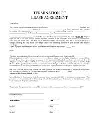 Lease Release Agreement Template
