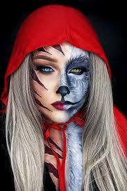 23 half face halloween makeup ideas