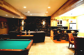 Basement Kitchen Bar L Shape Black Marble Kitchen Bar Table Basement Home Theater Ideas
