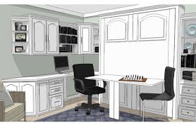 murphy bed home office. Custom Wall Bed System Murphy Home Office A
